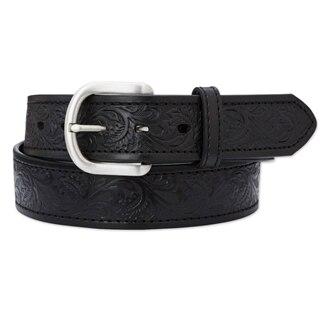 Ariat Men's Embossed Leather Belt