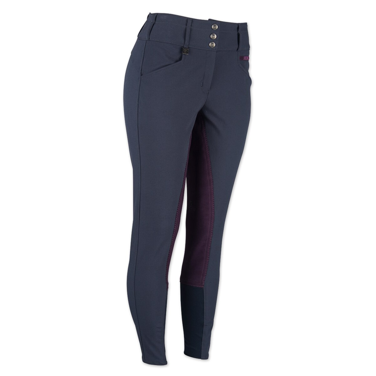 Romfh Ladies Champion Dura-Dry 3-Button Full Seat Riding Breeches With Curve Fit