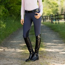 Piper Breeches by SmartPak - Classic Side Zip Knee Patch- Clearance!