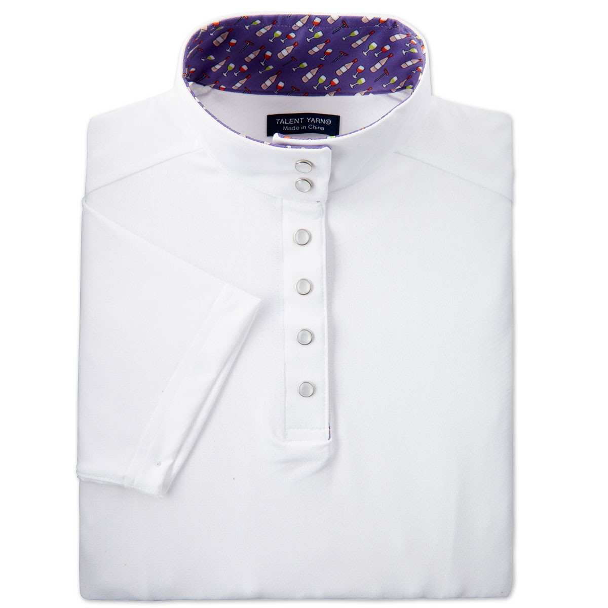 Essex Classics Fancy Snap Talent Yarn Shirt-Short Sleeve