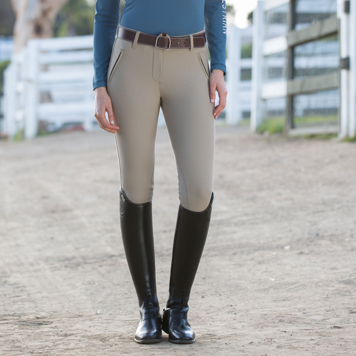 Asmar Classic Knee Patch Breech