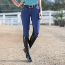 Piper Breeches by SmartPak - Mid Rise Knee Patch- Clearance!