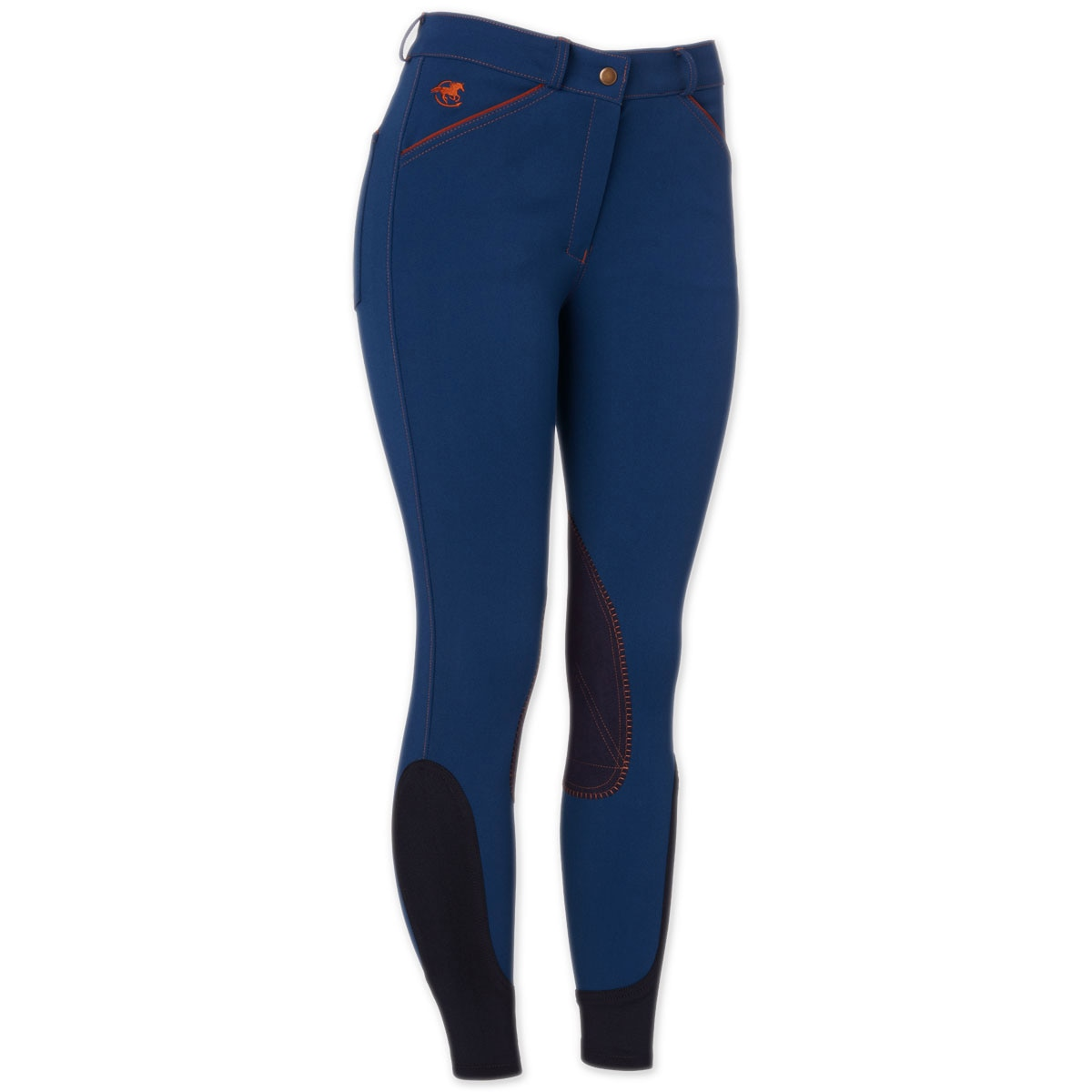 Piper Breeches by SmartPak - Mid Rise Knee Patch- Sale!
