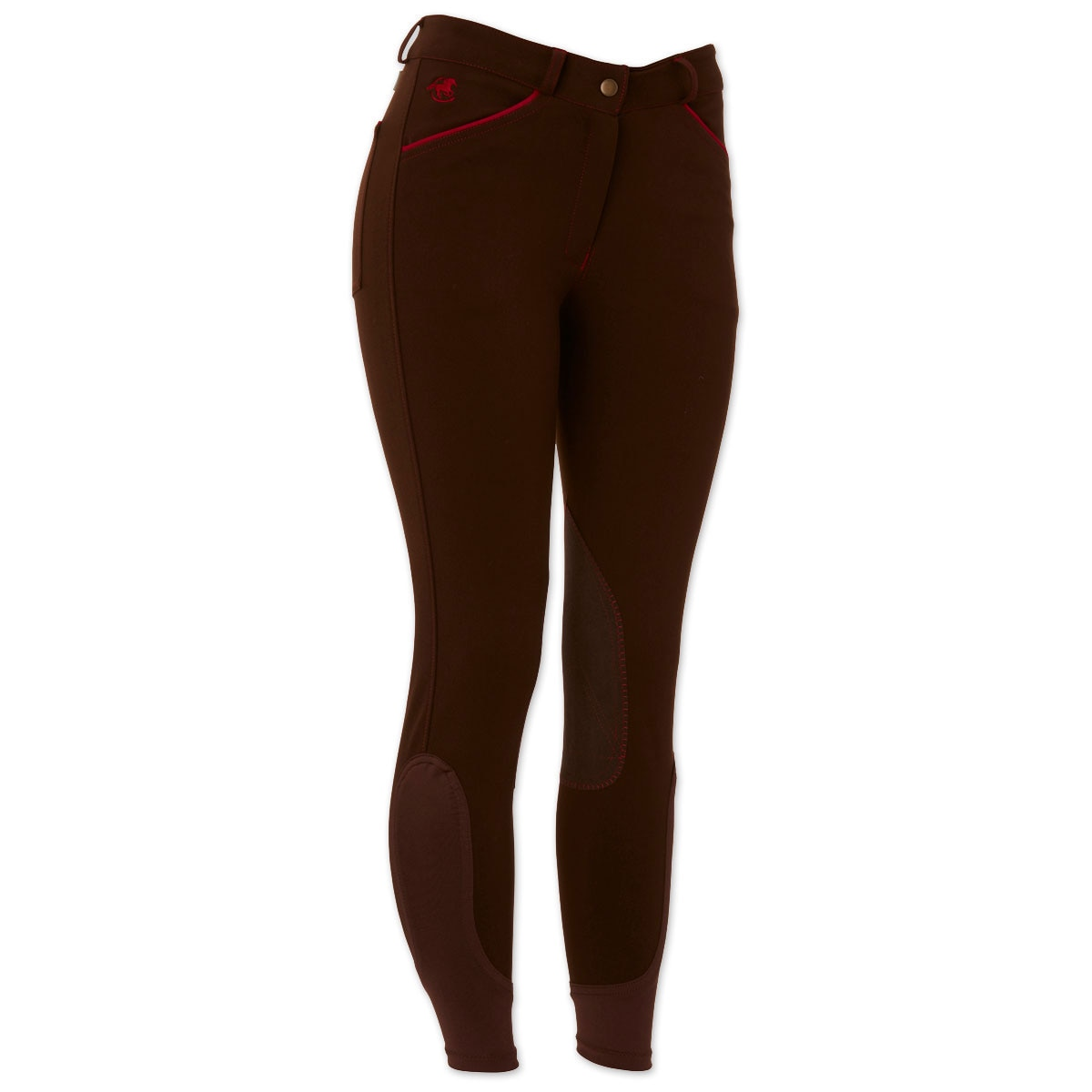 Piper Breeches by SmartPak - Mid-Rise Knee Patch- Sale!