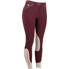 Piper Breeches by SmartPak - Mid Rise Knee Patch