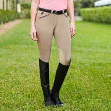 Piper Original Mid-rise Breeches by SmartPak - Knee Patch