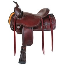 Circle Y Topeka Flex-Lite Shell Border Saddle