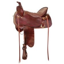 Tucker High Plains Trail Saddle-Smooth