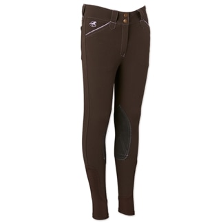 Piper Breeches by SmartPak- Girls Knee Patch - Clearance!