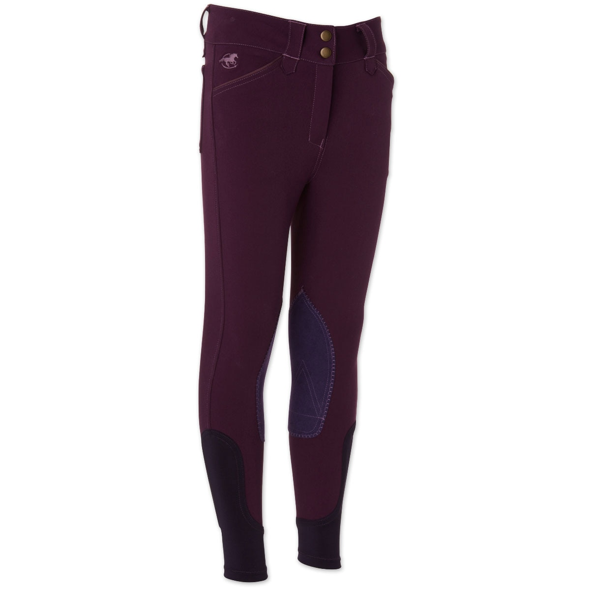 Piper Breeches by SmartPak- Girls Knee Patch - Sale!