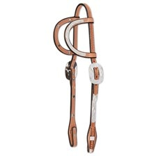 Circle Y Stars & Diamonds Double Ear Headstall
