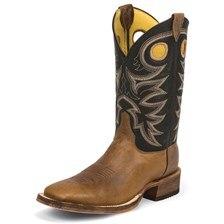 Justin Men's Cowhide Bent Rail Boot
