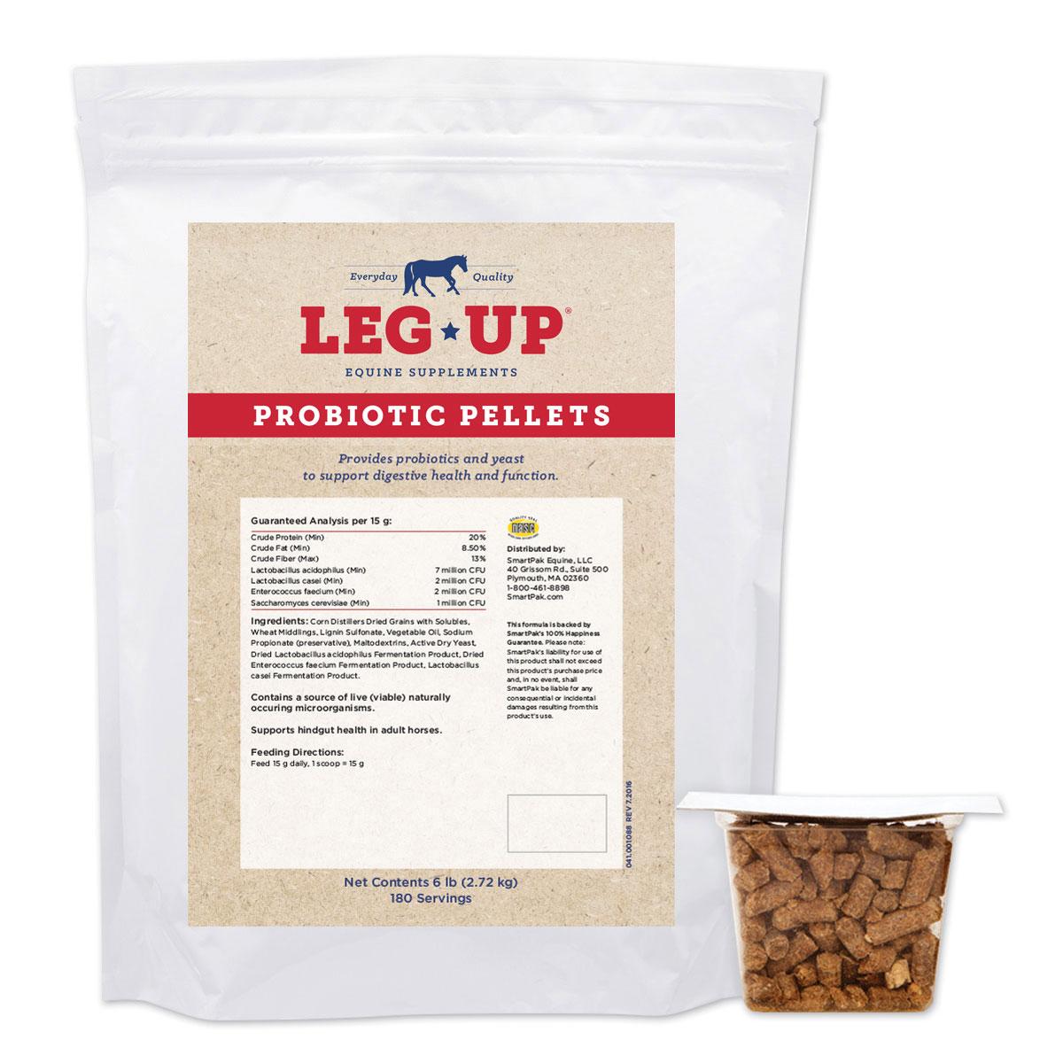 Leg Up® Probiotic Pellets
