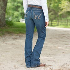 Women's Wrangler® Ultimate Riding Jean Cool Vantage - Q-Baby- Clearance!