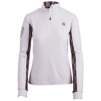 Romfh Lace Long Sleeve Show Shirt