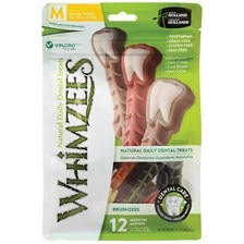 Whimzees Brushzees Dental Chews