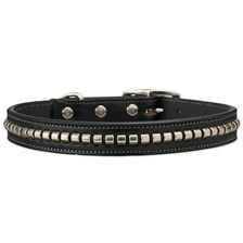 English Bridle Leather Clincher Collar - Clearance!