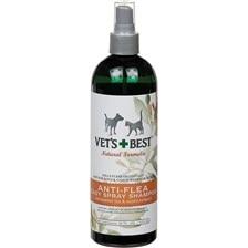 Vet's Best Natural Anti- Flea Spray Shampoo