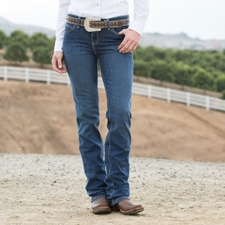 Wrangler Women's Q-Baby Booty-Up Jeans - Cowgirl Wash