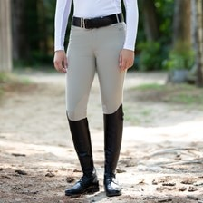 Piper Breeches by SmartPak - Girls Knee Patch