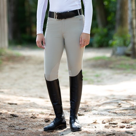 Piper Breeches By Smartpak Girls Knee Patch