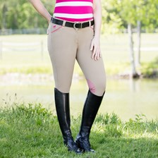Piper Breeches by SmartPak - Silicone Grip Knee Patch- Clearance!