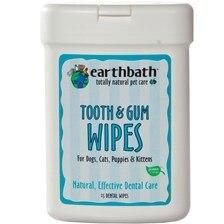earthbath® Tooth & Gum Wipes