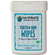 earthbath® Tooth & Gum Wipes