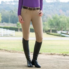 Piper Knit Low-rise Breeches by SmartPak - Knee Patch