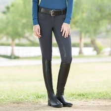 Piper Knit Low-rise Breeches by SmartPak - Full Seat