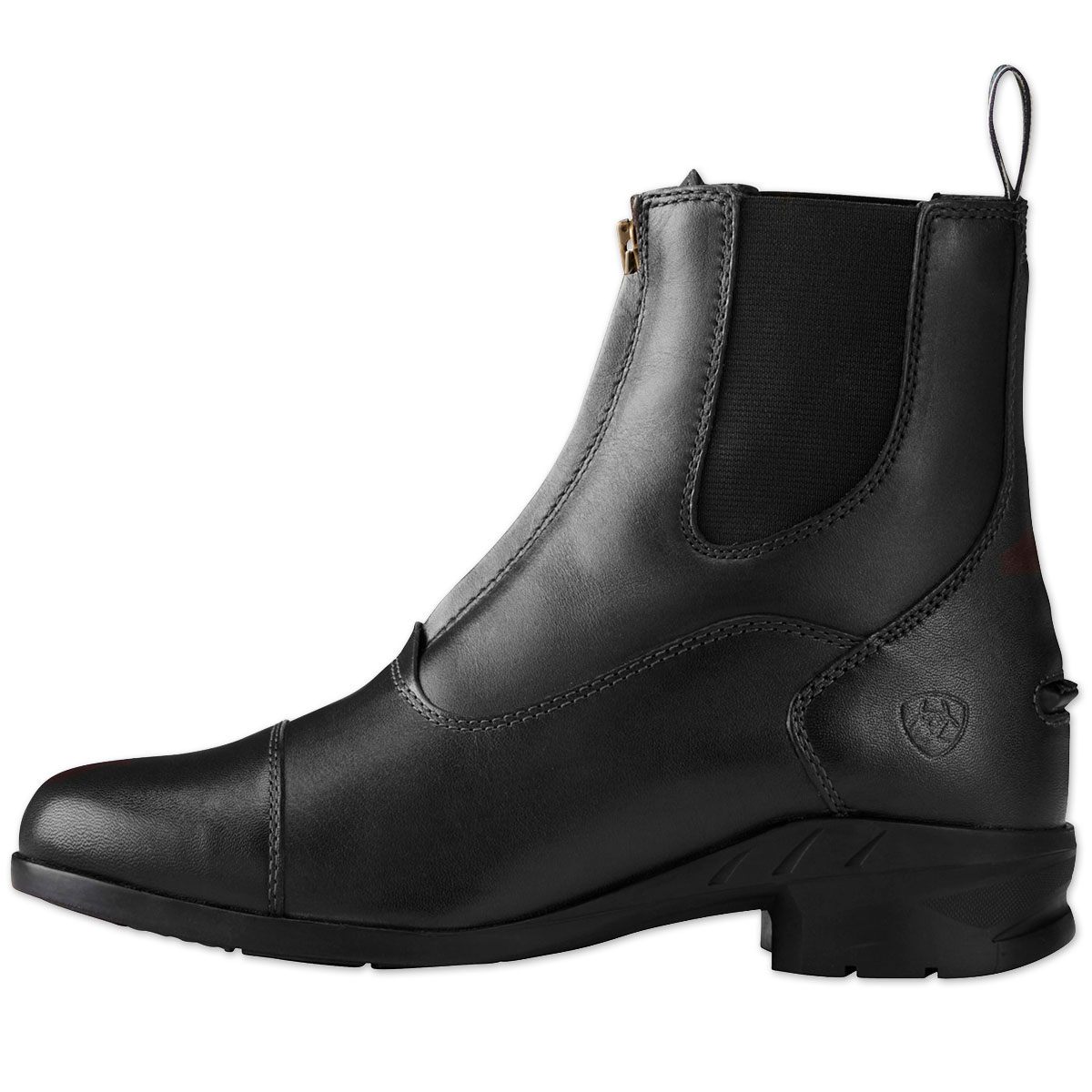 Brown Ariat Heritage IV Womens Zip Paddock Boot