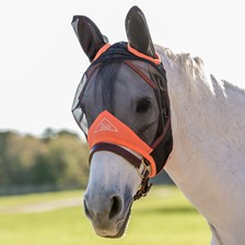Shires Fine Mesh Fly Mask w/ Ears - Clearance!
