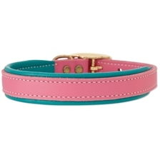 SmartPak Soft Padded Leather Collar - Pastel Collection