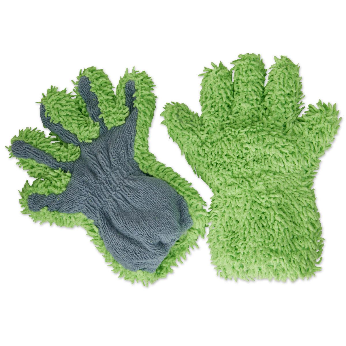 Microfiber Bathing & Grooming Gloves