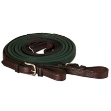Tory Leather Rubber Grip Competition Reins - Clearance!