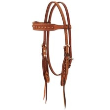 Martin Saddlery Corkscrew Browband Headstall