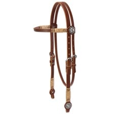 Weaver Harness Leather Rawhide Browband Headstall
