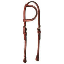 Circle Y Spot Accent Single Ear Headstall
