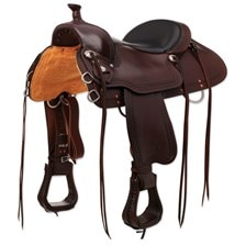 Circle Y Shallow Water All-Around Trail Saddle Made Exclusively for SmartPak - Test Ride Clearance!