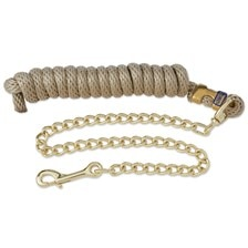 Poly Nylon Lead with Brass Plated Chain