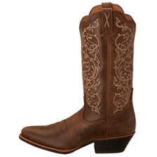 Twisted X Women's Silver Buckle Boots-Western Toe
