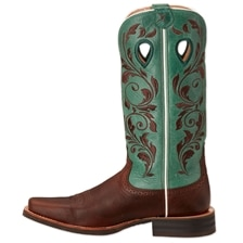 Twisted X Women's Silver Buckle Boots-Ruff Stock