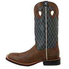 Twisted X Men's Ruff Stock Boots- Bomber Blue