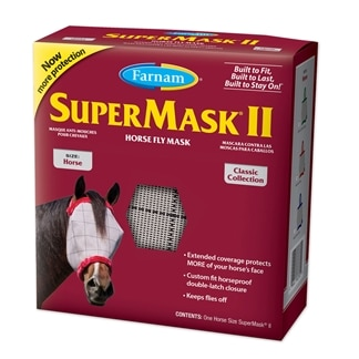 SuperMask® II Classic Fly Mask