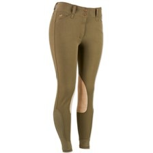 Piper Tan Patch Front Zip Breeches by SmartPak - Clearance!