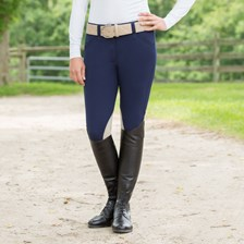 Piper Tan Patch Low-rise Front Zip Breeches by SmartPak