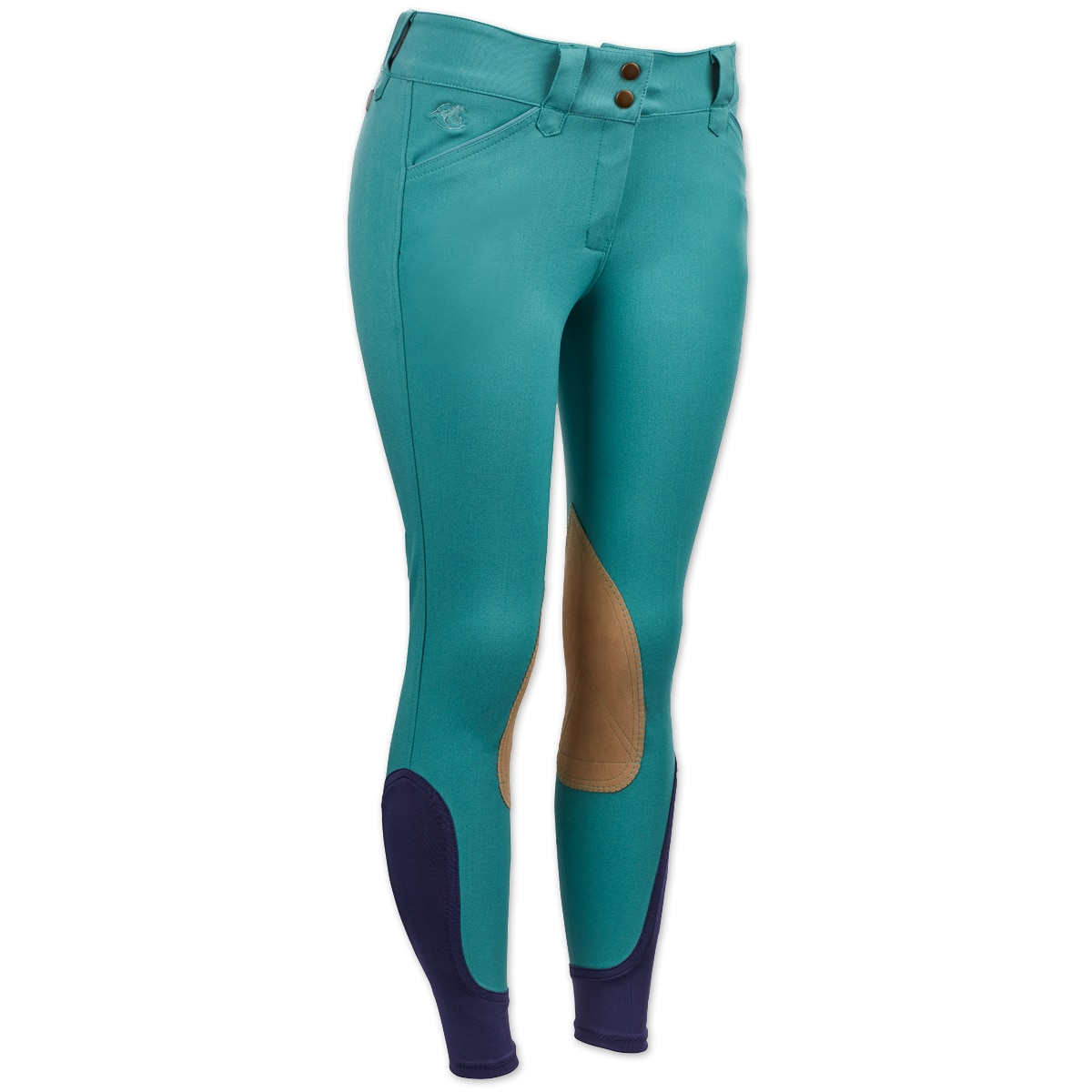 Piper Breeches by SmartPak - Tan Knee Patch - Clearance!