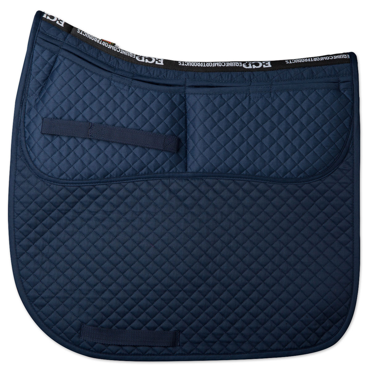 Equine Comfort Correction Dressage Pad with Memory Foam Inserts