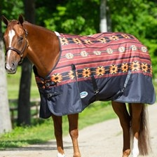 WeatherBeeta ComFiTec Essential Navajo Pattern Turnout Blanket