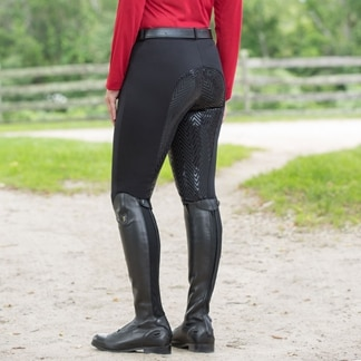 Piper Knit Breeches by SmartPak- Fleece Lined Full Seat
